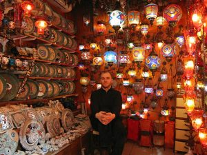 The Grand Bazaar of Istanbul is a great place to haggle for awesome souvenirs