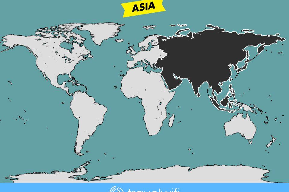 [Travel Wifi] Asia