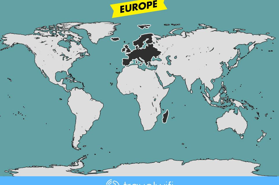 [Travel Wifi] Europe