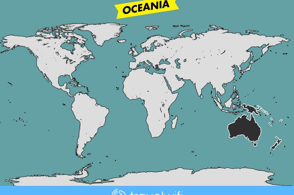 [Travel Wifi] Oceania