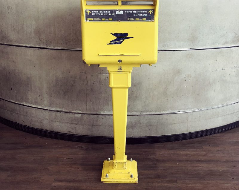 如何在欧洲找到邮筒把机器寄回?