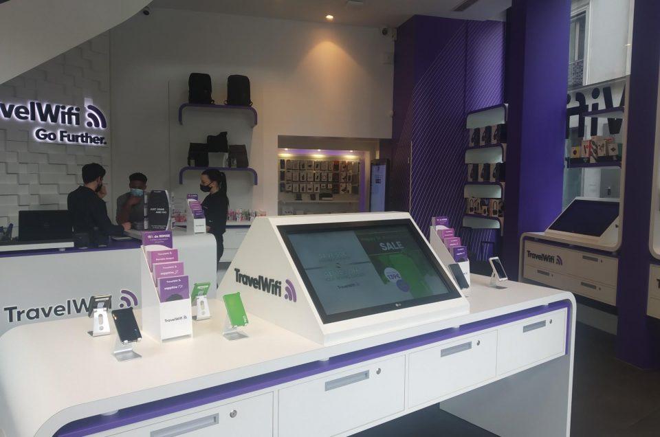 TravelWifi Store, now open in Paris!
